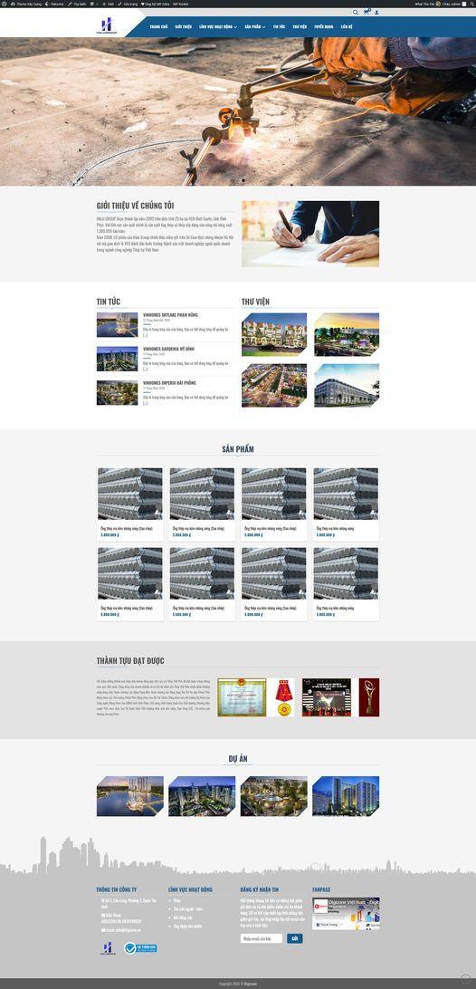 Digizone Website Xaydung