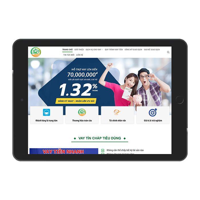 Mau Website Cho Vay Tin Dung Ma 307 1